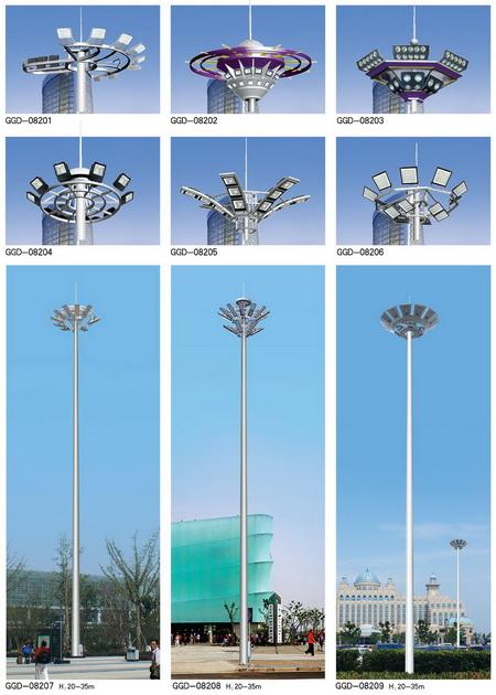 高杆灯路灯生产