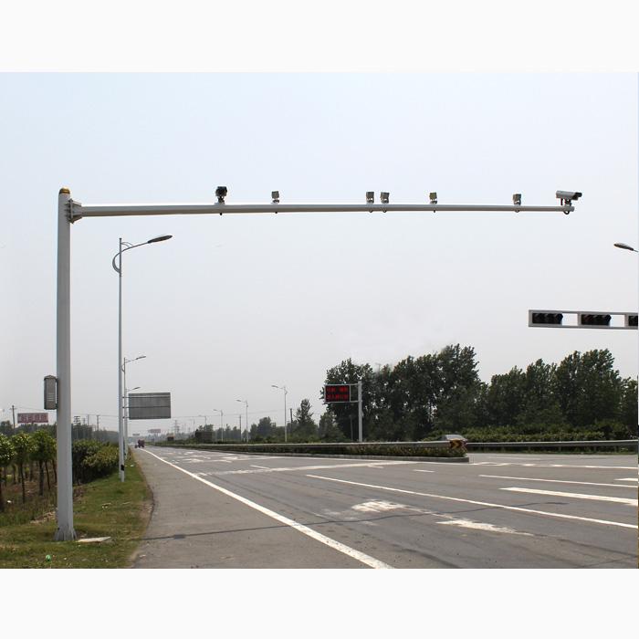 交通电子抓拍杆
