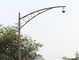 景区监控杆